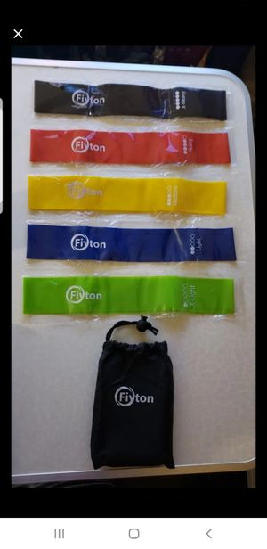Resistance Bands set of 5 for Sale in Long Beach, CA