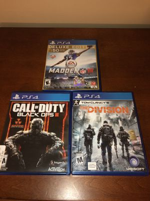 PS4 Video Game Bundle for Sale in Dublin, GA
