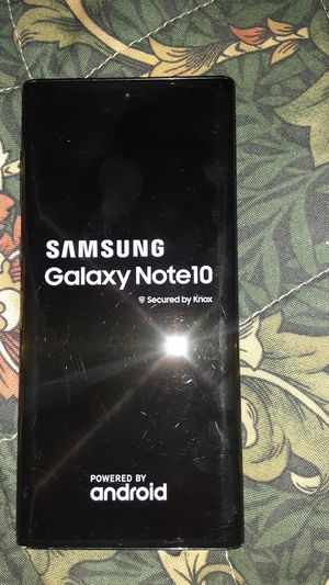 Samsung galaxy note 10 256gig brand new and unlocked in perfect condition for Sale in Denver, CO