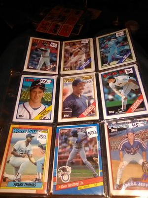 1988-1999 Baseball Cards for Sale in San Gabriel, CA