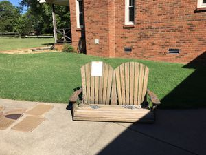 Solid wood porch swing for Sale in Smyrna, TN