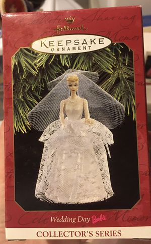 Hallmark Barbie Wedding Day keepsake ornament for Sale in Export, PA