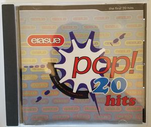 Erasure pop 20 hits cd for Sale in Tuscola, TX