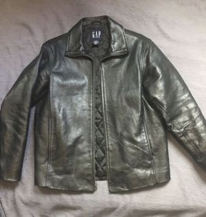 GAP BRAND LEATHER JACKET for Sale in Los Angeles, CA