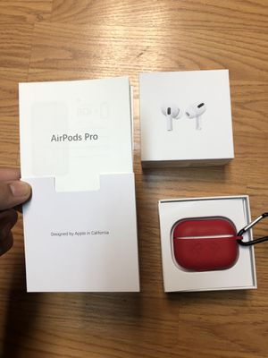 Apple AirPod Pros w/ free case for Sale in Burbank, CA