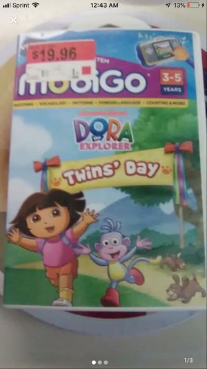 VTech Mobigo Dora the Explorer - Twin's Day - Game for Sale in Pottsville, PA