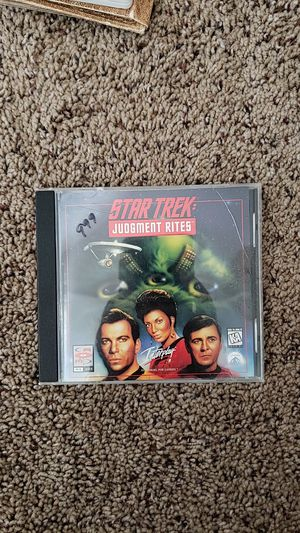 Star track judgment rites vintage PC Game for Sale in San Diego, CA