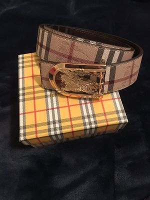 Burberry belt for Sale in Murfreesboro, TN