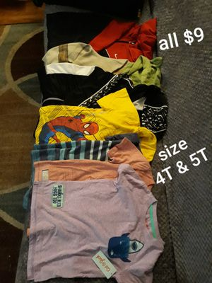 Used clothes, A shirt is new, all for $9 for Sale in San Jose, CA