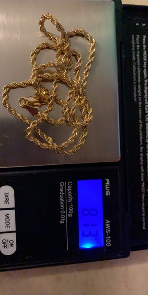 14k Italy gold chain for Sale in Layton, UT