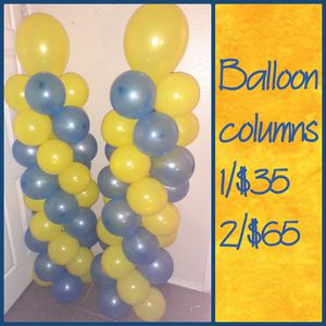Balloon columns for Sale in Dallas, TX