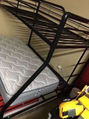 FULL/TWIN DOUBLE DECK BED FRAME for Sale in Bellevue, WA