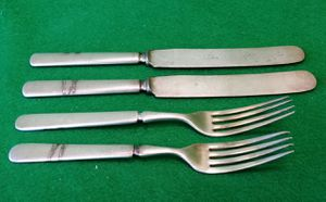 ANTIQUE SILVER WARE SET OF 4 for Sale in Peoria, AZ