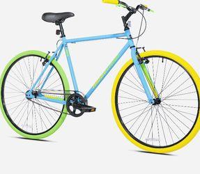 700C Men's Ridgeland Hybrid Bike, Blue/Green🚀 for Sale in Ocala,  FL
