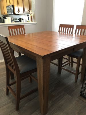 Wood Dining Table and Chairs for Sale in Austin, TX