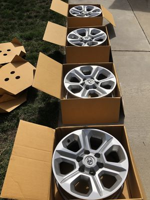 SR5 Wheels, complete set for Sale in Long Beach, CA