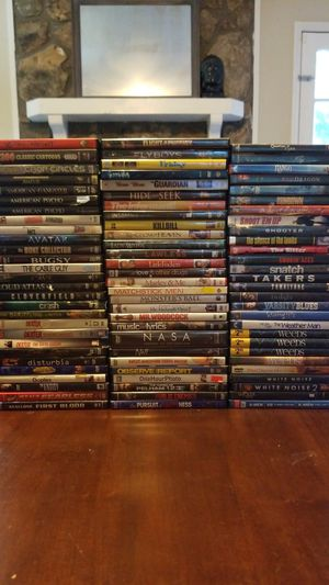 83 DVDs 2000s and Onwards for Sale in Canton, GA