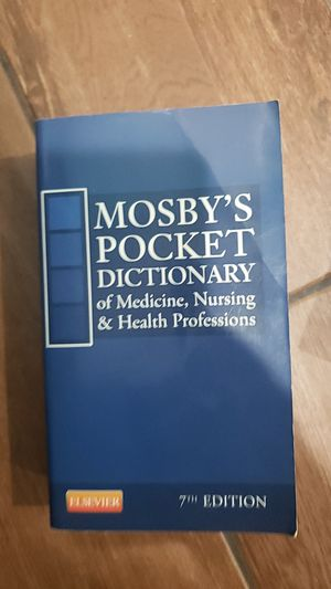 Mosby's pocket dictionary of med. 7th edition for Sale in Meriden, CT