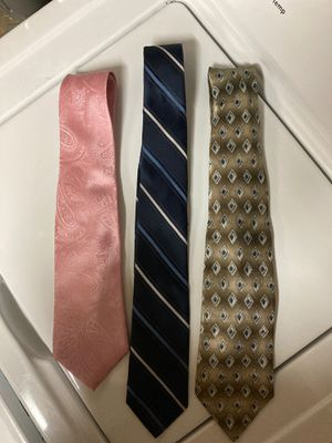 3 Ties Italy and USA for Sale in Sacramento, CA