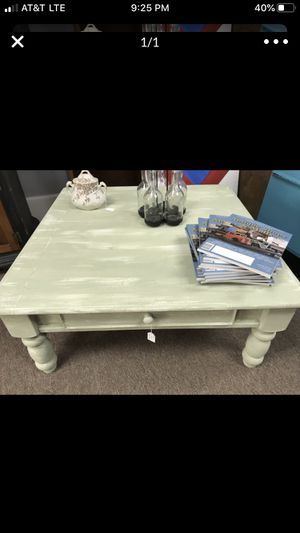 Coffee Table painted for Sale in Frankfort, IN