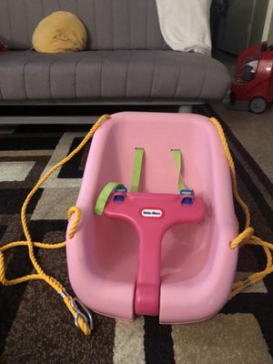 Little tikes baby girl swing for Sale in Santa Ana, CA