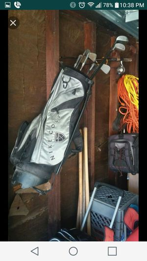 Nike golf bag with clubs for Sale in Harper Woods, MI