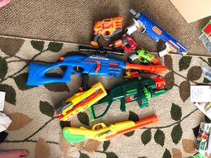 Random Nerf and Buzz Bee guns for Sale in Layton, UT