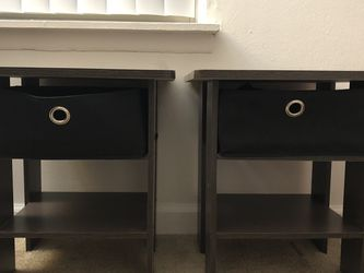 Bedside Night Tables (2) for Sale in Ypsilanti,  MI
