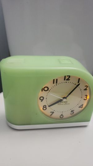 Big ben moon bean retro remake alarm clock for Sale in San Diego, CA