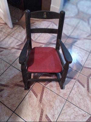 Antique little musical rocking chair for Sale in Boca Raton, FL