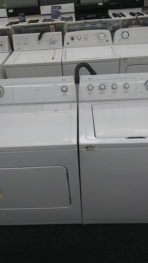 Whirlpool set washer dryer for Sale in Chicago, IL