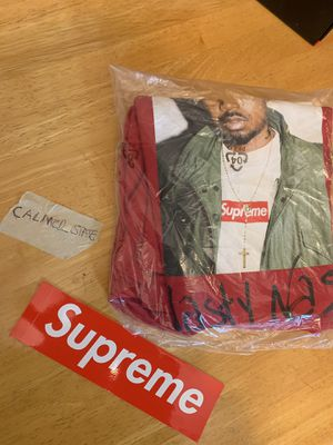 NEW Sz L Supreme Nas Tee Red Box Logo for Sale in Stanford, CA