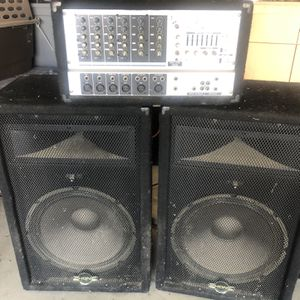 PA System 8 Channel Input for Sale in Shafter, CA