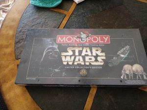 make off Monopoly star wars limited collectors edition for Sale in Silver Spring, MD