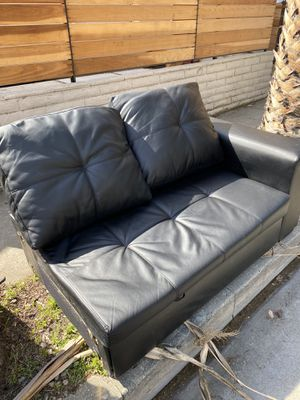 NOW AVAILABLE in Hollywood!! Sofa/futon with pullout and storage for FREE! for Sale in Los Angeles, CA