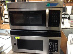 Frigidaire Stainless Steel Microwaves (priced separately) for Sale in Chicago, IL