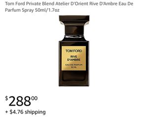 Tom Ford 4.1 out of 5 stars 2 Reviews Tom Ford Private Blend Atelier D'Orient Rive D'Ambre Eau De P for Sale in Seattle, WA
