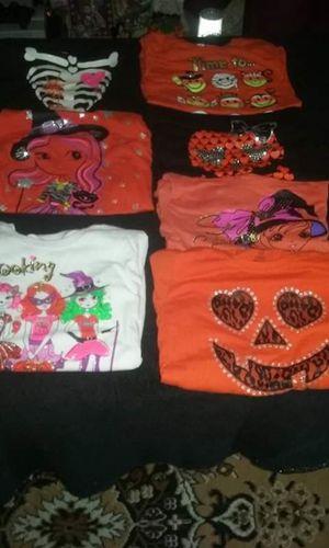 Girls Halloween long sleeve shirts for Sale in Trenton, NJ
