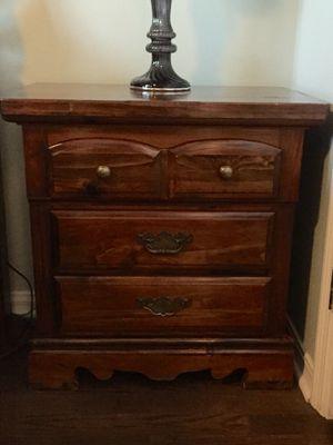 Very nice solid wood bedroom set - $600 obo for Sale in St. Petersburg, FL