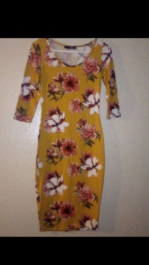 Yellow Mustard Dress 👗 for Sale in Houston, TX
