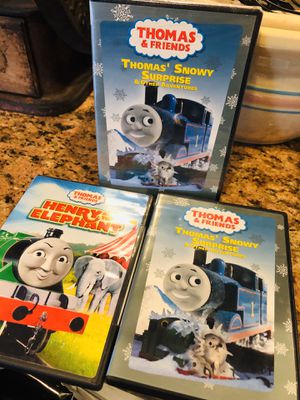 Thomas the Train DVD Movie Lot Kids for Sale in Etiwanda, CA