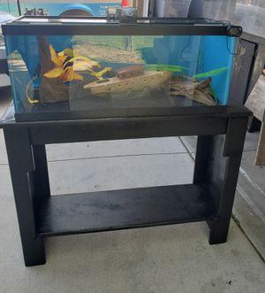 20gall Glass Long Aquarium Set for Sale in Hemet, CA