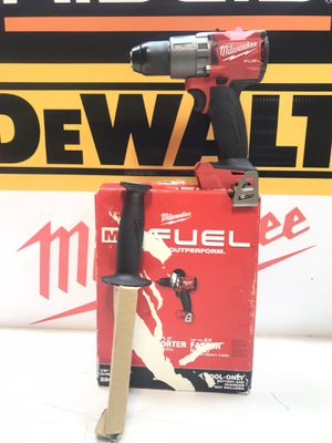 Milwaukee M18 FUEL 18-Volt Lithium-Ion Brushless Cordless 1/2 in. Hammer Drill / Driver (Tool-Only) for Sale in Bakersfield, CA