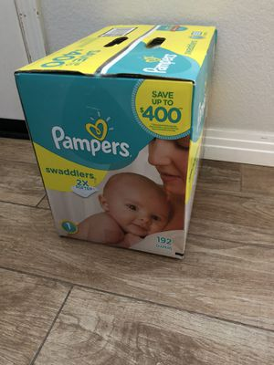 192 pampers diapers for Sale in San Marcos, CA
