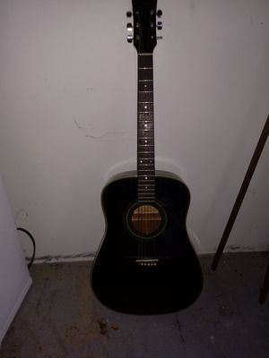 Ibanez 6 string acoustic guitar with black gig bag for Sale in Mount Jackson, VA