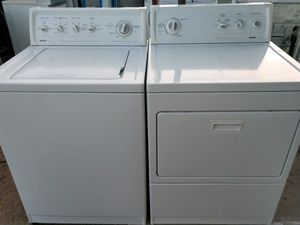 """KENMORE"" MATCHING SET WASHER AND GAS DRYER HEAVY DUTY SYSTEM SUPER CAPACITY PLUS 3.8 cu ft for Sale in Phoenix, AZ"