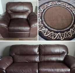 Living Room Set (Chocolate Brown) for Sale in Canal Winchester,  OH