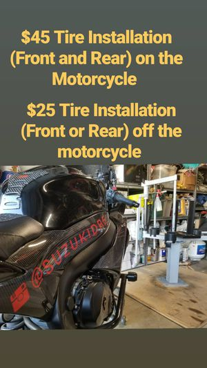Motorcycle Tire Install for Sale in Carson, CA