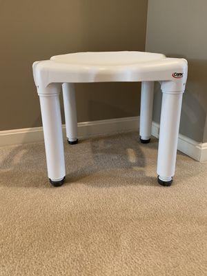 Shower/Bath Seat - white for Sale in Gainesville, VA
