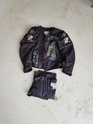 Joe rocket armor motorcycle jacket vest with liner for Sale in Northlake, IL